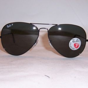 311d70721b Ray-Ban Accessories - Ray Ban Aviator RB3025 002 58 62mm Black Frame